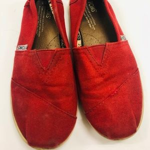 ❤️ Toms Red Shoes❤️